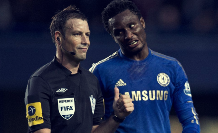 Mark Clattenburg Vs Chelsea